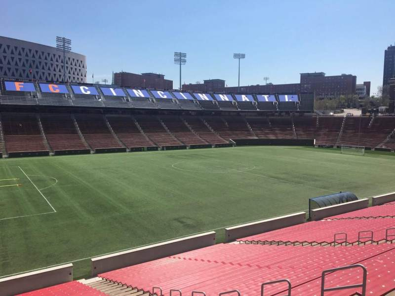 Seating view for Nippert Stadium Section 126 Row 32 Seat 12