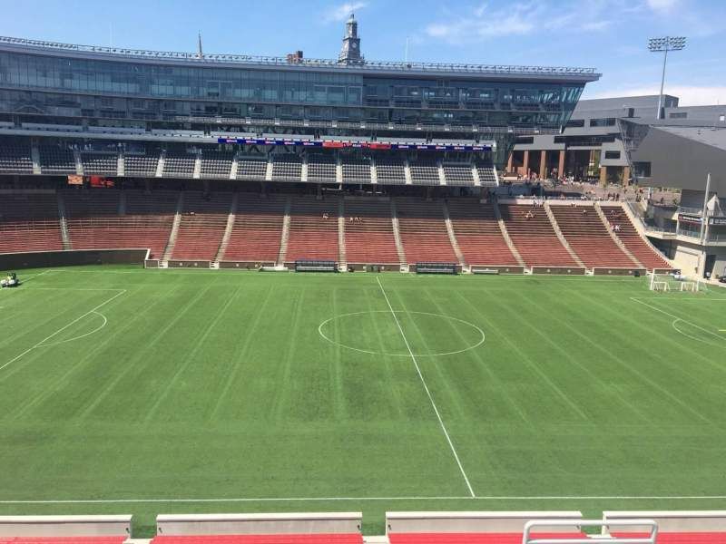 Seating view for Nippert Stadium Section 207 Row 8 Seat 1