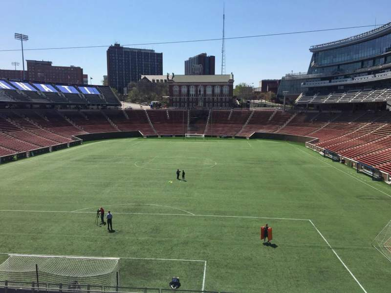 Seating view for Nippert Stadium Section 132 Row 20 Seat 17