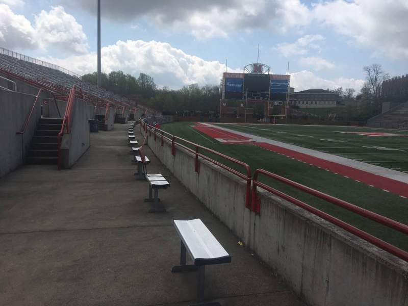 Seating view for Yager Stadium Section Standing Room Students