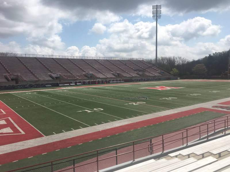 Seating view for Yager Stadium Section 7 Row 11 Seat 12