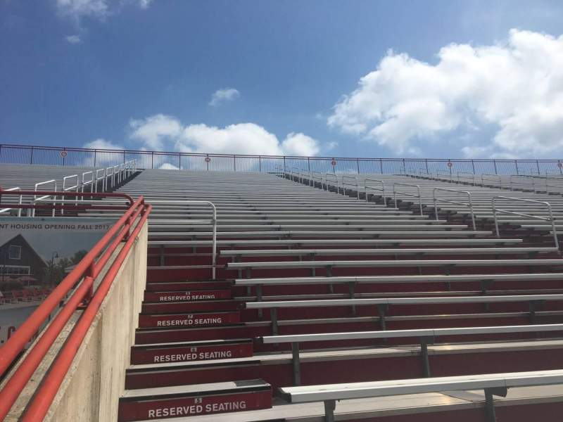 Seating view for Yager Stadium Section No Section I