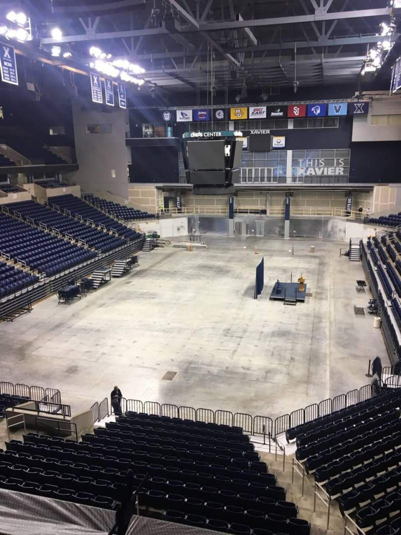 Seating view for Cintas Center Section 202 Row B Seat 6