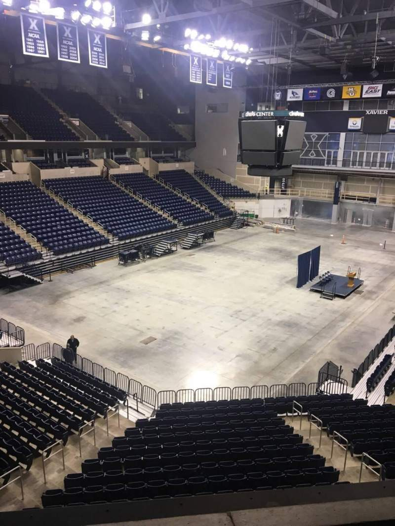 Seating view for Cintas Center Section 204 Row B Seat 7
