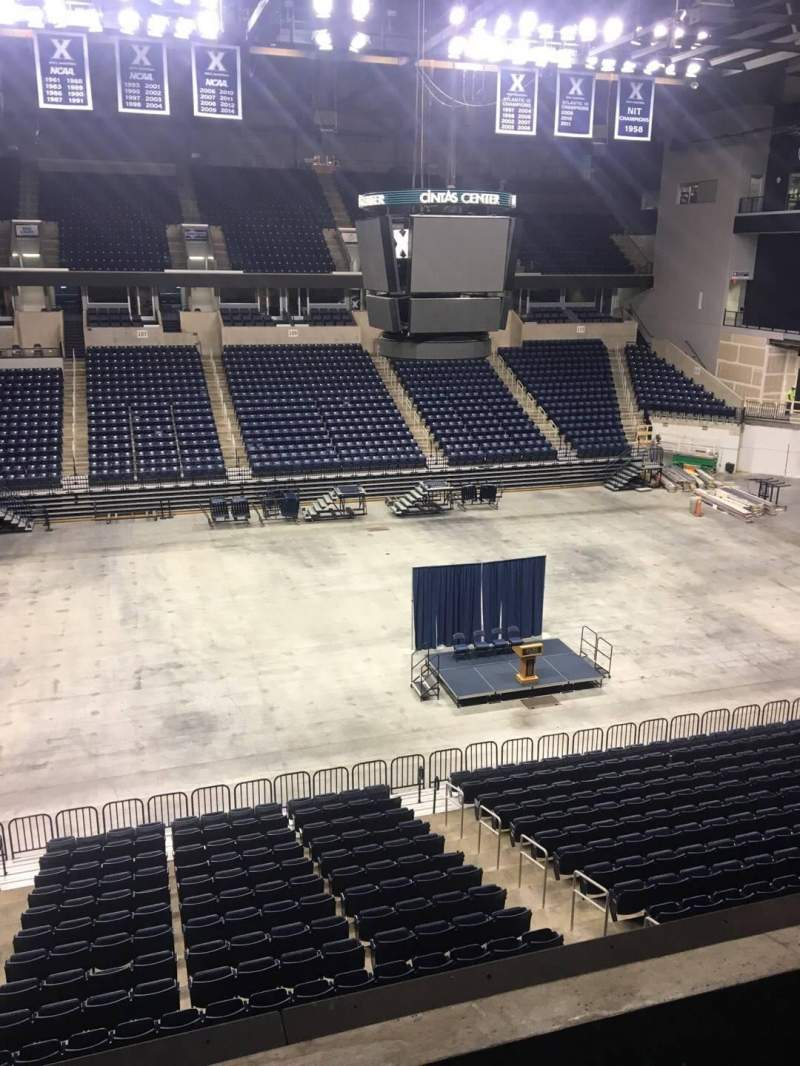 Seating view for Cintas Center Section 210 Row C Seat 6