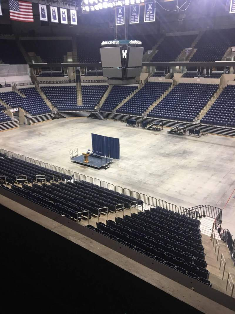 Seating view for Cintas Center Section 216 Row C Seat 6