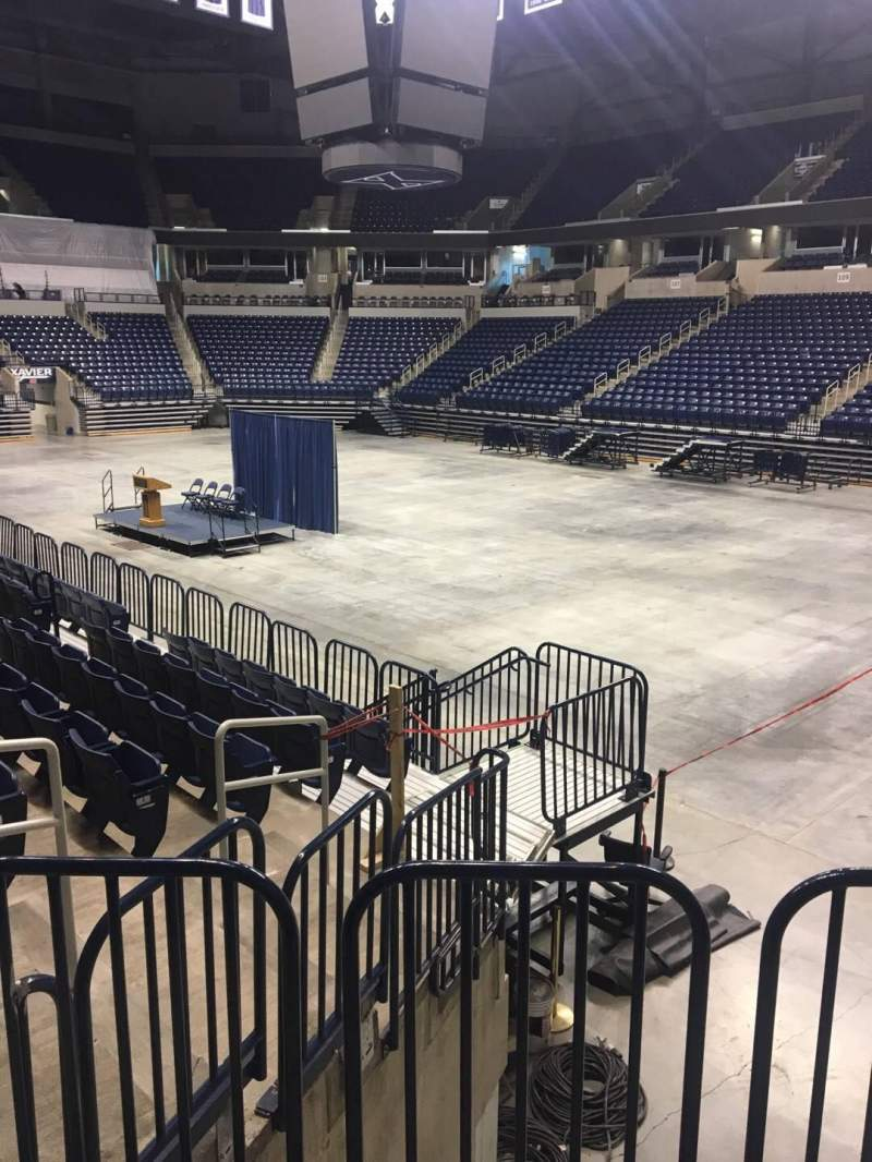 Seating view for Cintas Center Section 116 Row N Seat 8