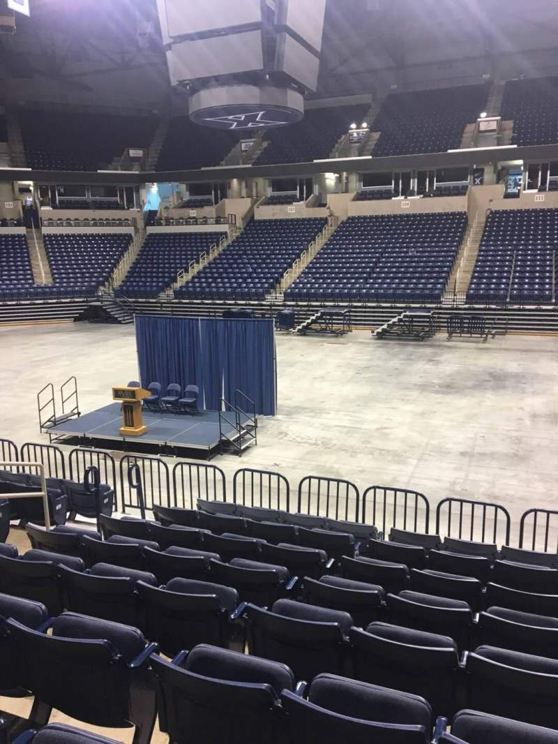 Seating view for Cintas Center Section 112 Row N Seat 7
