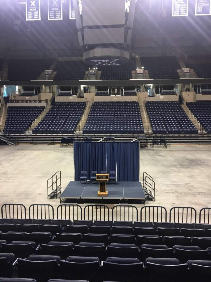 Seating view for Cintas Center Section 110 Row N Seat 7