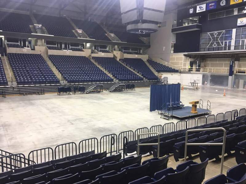 Seating view for Cintas Center Section 106 Row N Seat 7
