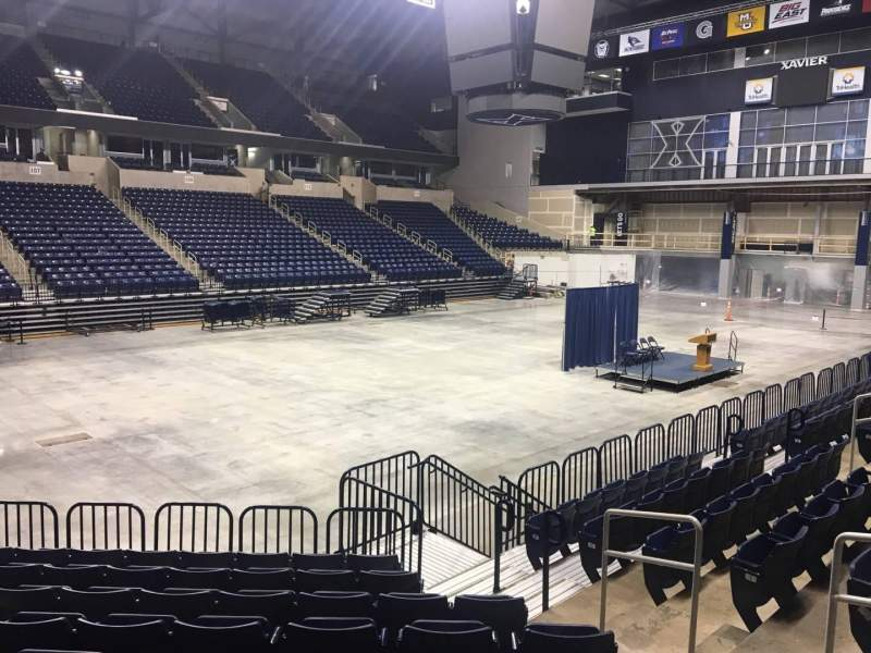 Seating view for Cintas Center Section 104 Row N Seat 8