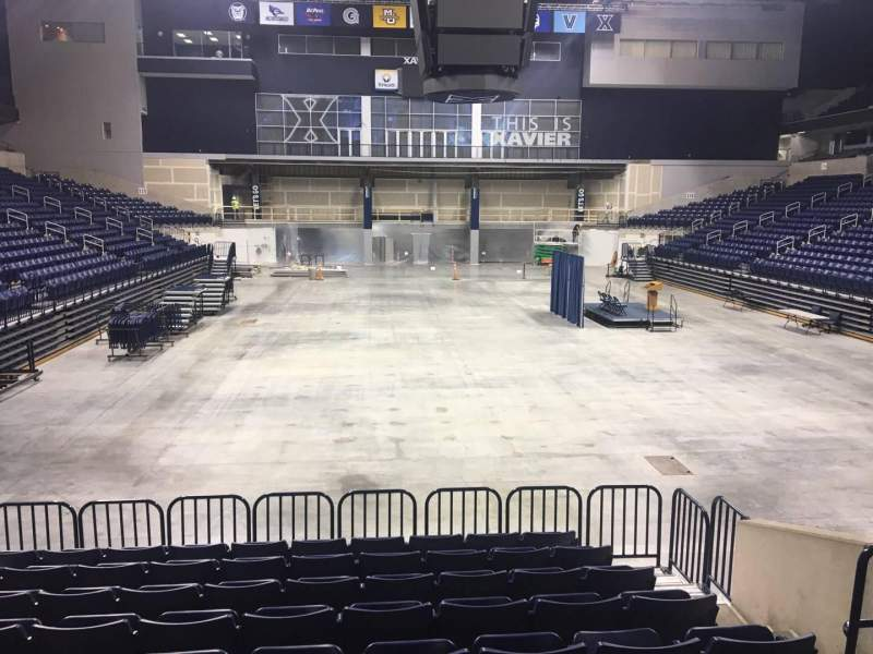 Seating view for Cintas Center Section 100 Row N Seat 7