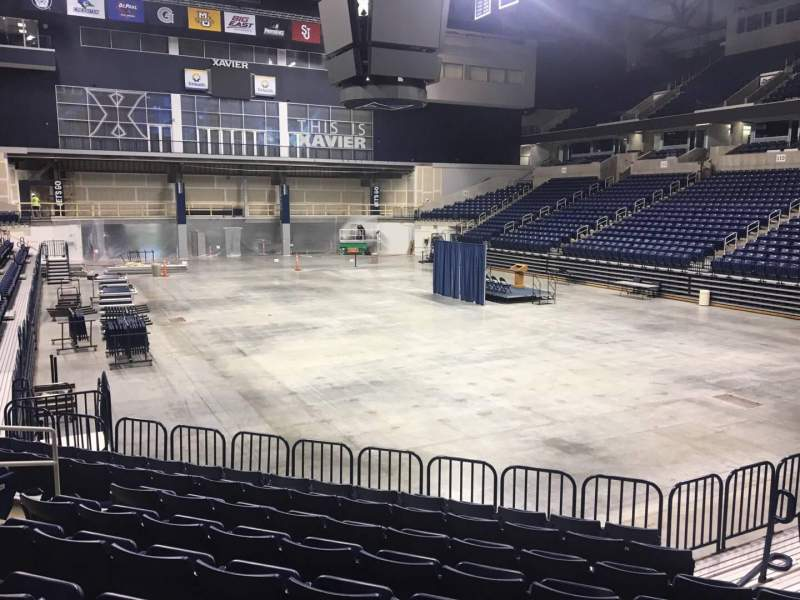 Seating view for Cintas Center Section 101 Row N Seat 6