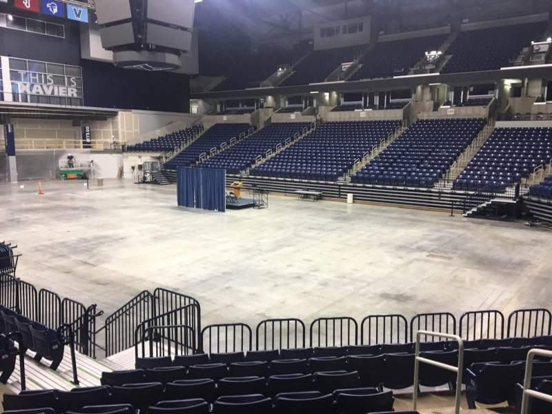 Seating view for Cintas Center Section 103 Row N Seat 20