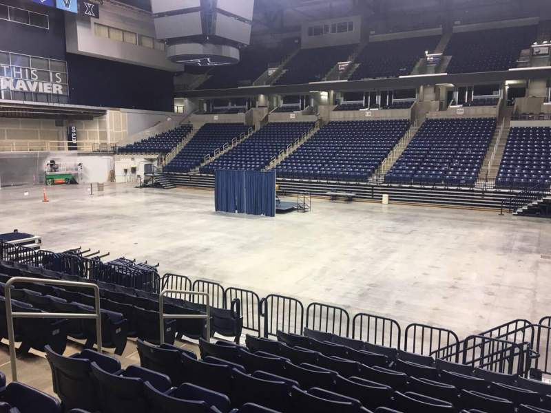 Seating view for Cintas Center Section 105 Row N Seat 6