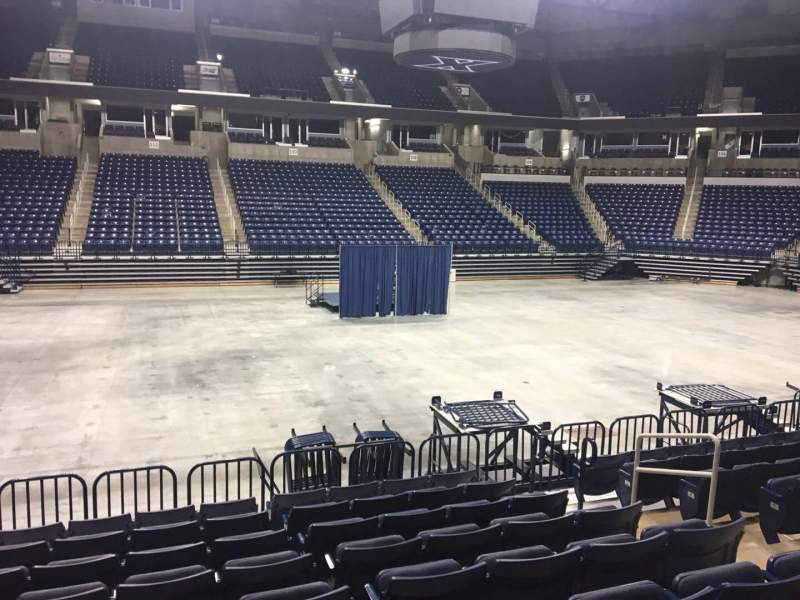 Seating view for Cintas Center Section 111 Row N Seat 6