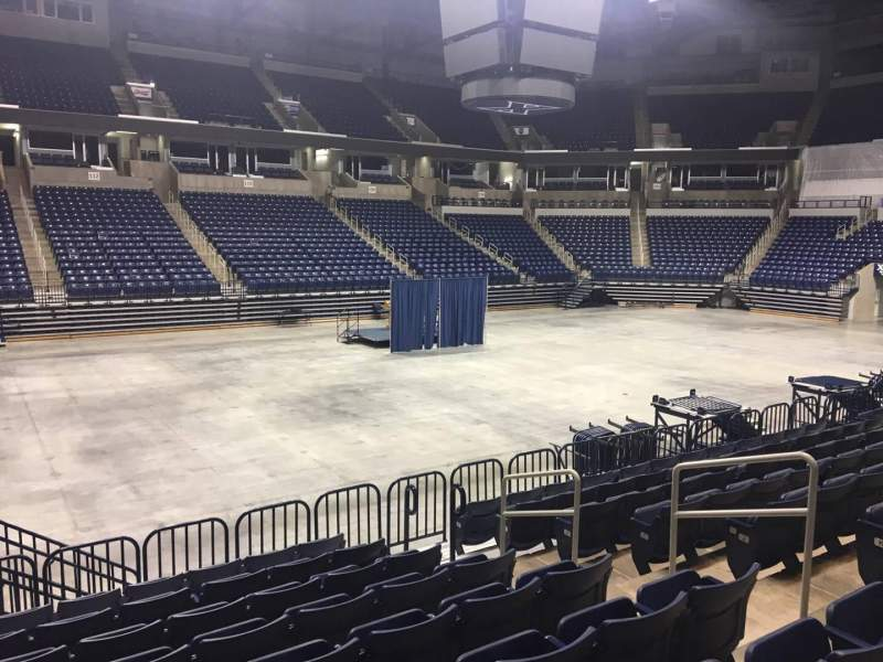 Seating view for Cintas Center Section 113 Row N Seat 6