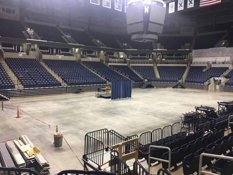 Seating view for Cintas Center Section 115 Row N Seat 7