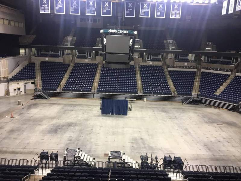Seating view for Cintas Center Section 211 Row B Seat 7