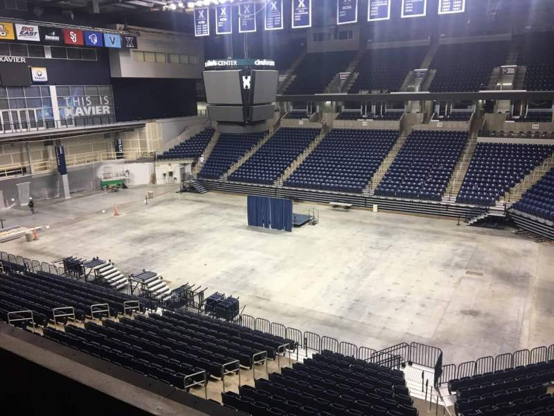 Seating view for Cintas Center Section 207 Row B Seat 7