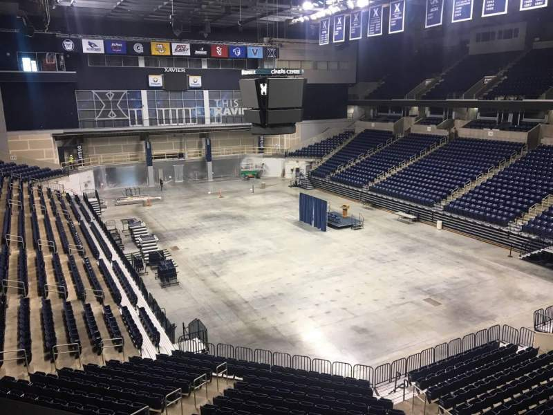 Seating view for Cintas Center Section 203 Row B Seat 7