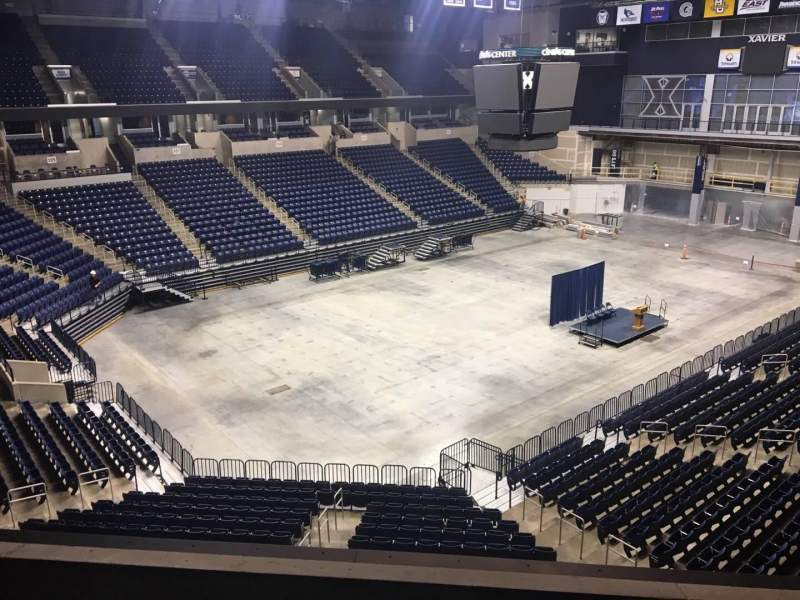 Seating view for Cintas Center Section 206 Row B Seat 7