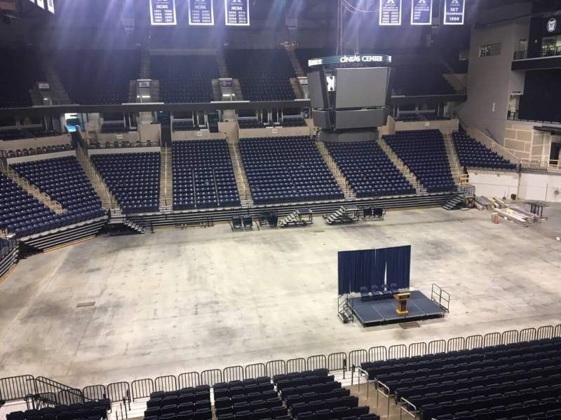 Seating view for Cintas Center Section 210 Row B Seat 7
