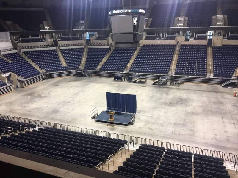 Seating view for Cintas Center Section 214 Row B Seat 6