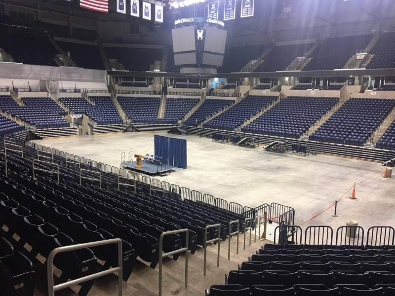 Seating view for Cintas Center Section 116 Row V Seat 3