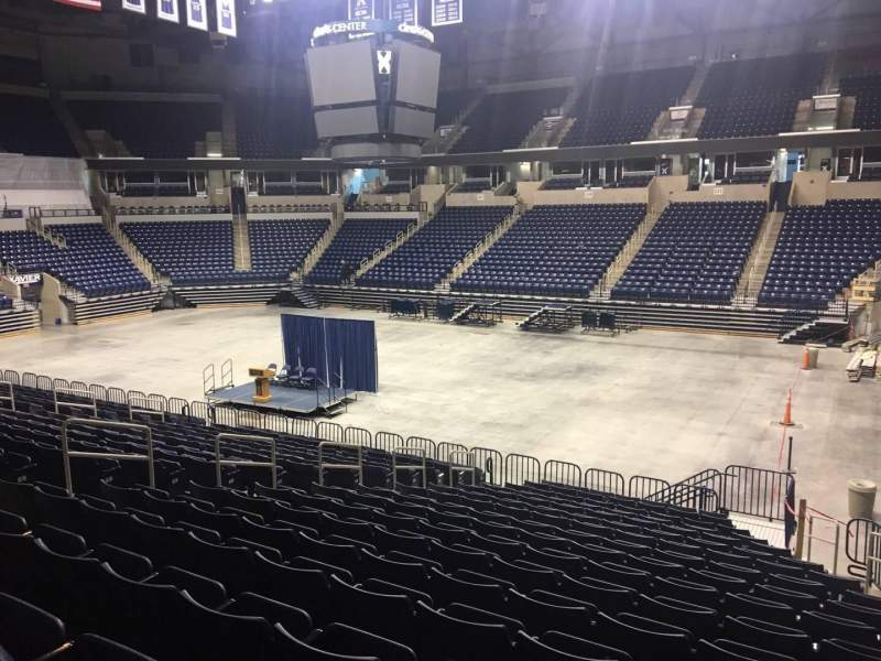 Seating view for Cintas Center Section 114 Row V Seat 3