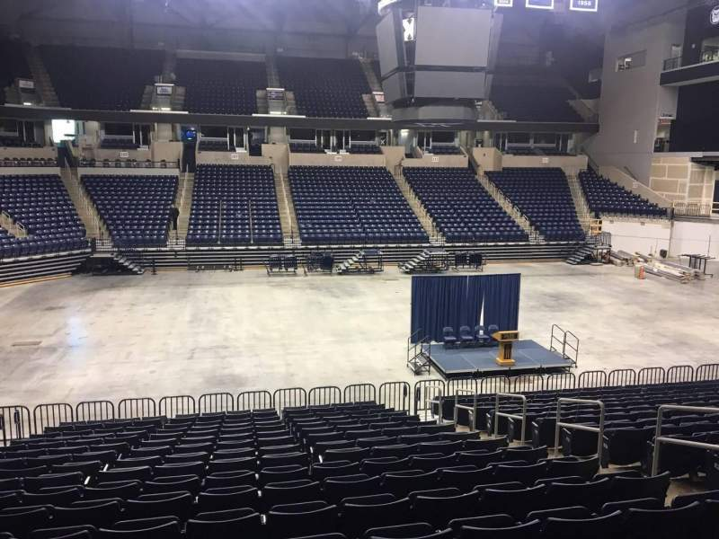 Seating view for Cintas Center Section 108 Row V Seat 5