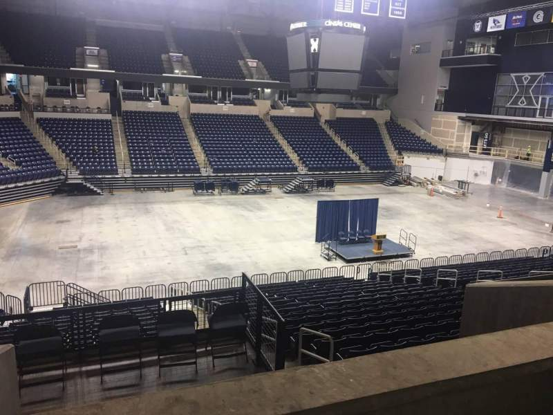 Seating view for Cintas Center Section 106 Row W Seat Handicap