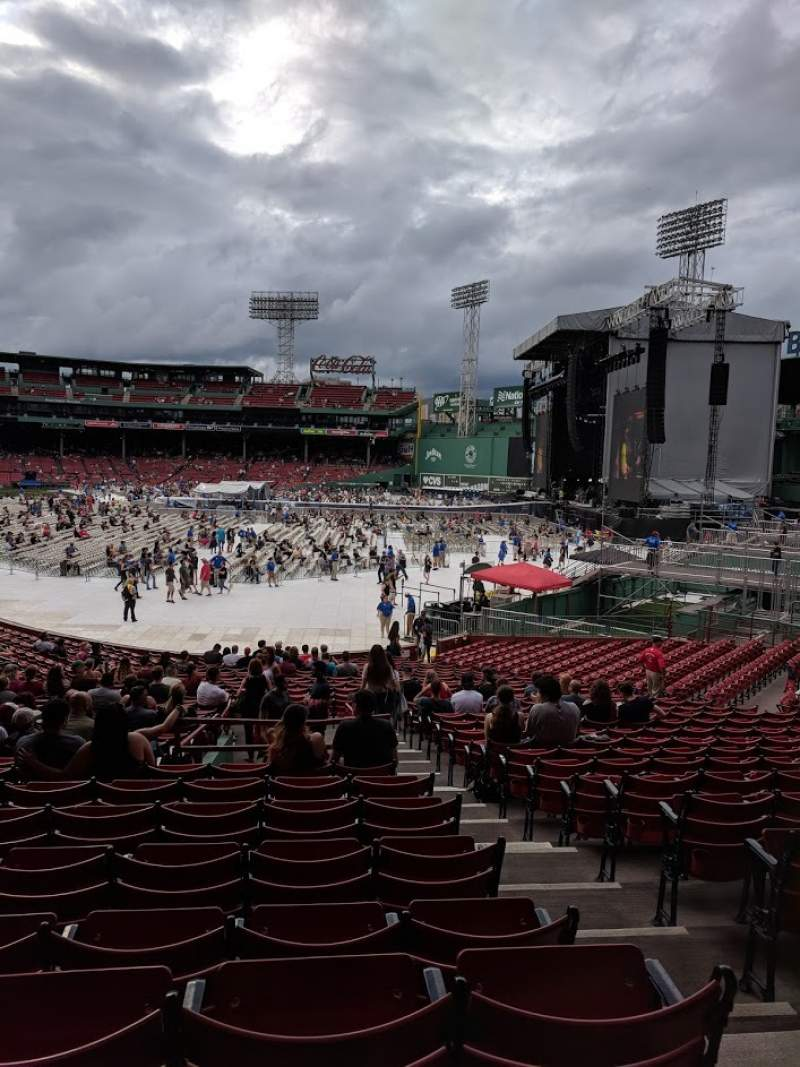 Seating view for Fenway Park Section Right Field Box 90 Row XX Seat 1