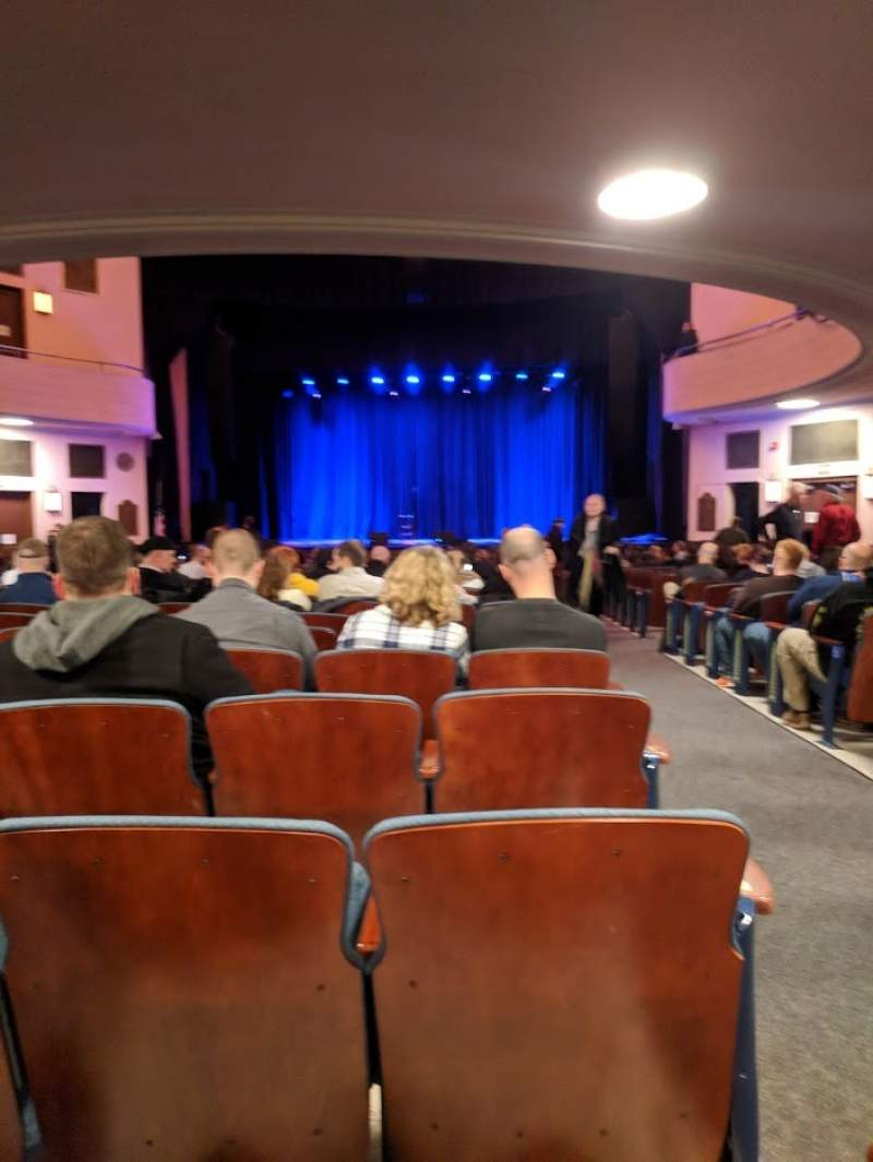 Seating view for Chevalier Theatre Section Orchestra Center Row AA Seat 101