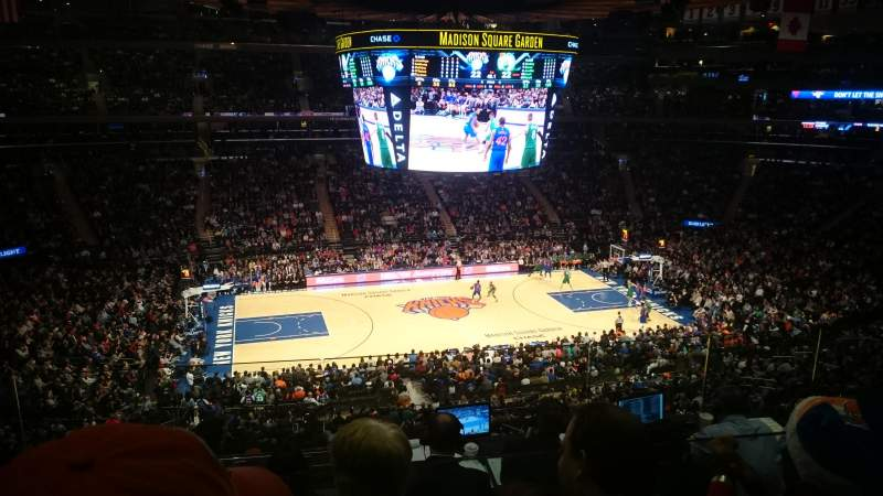 Seating view for Madison Square Garden Section 223 Row 6 Seat 8