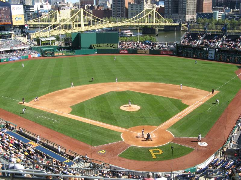 Seating view for PNC Park Section 217 Row I Seat 24