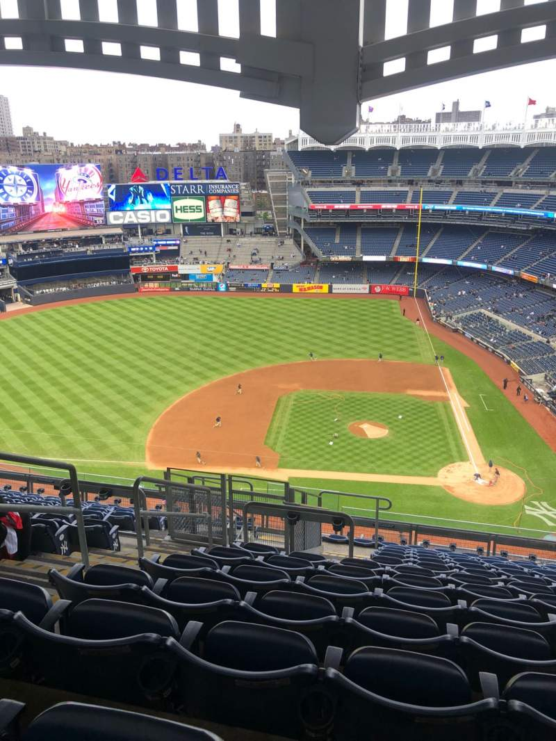 Seating view for Yankee Stadium Section 423 Row 13 Seat 24