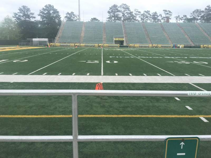 Seating view for Strawberry Stadium Section H Row 1 Seat 10