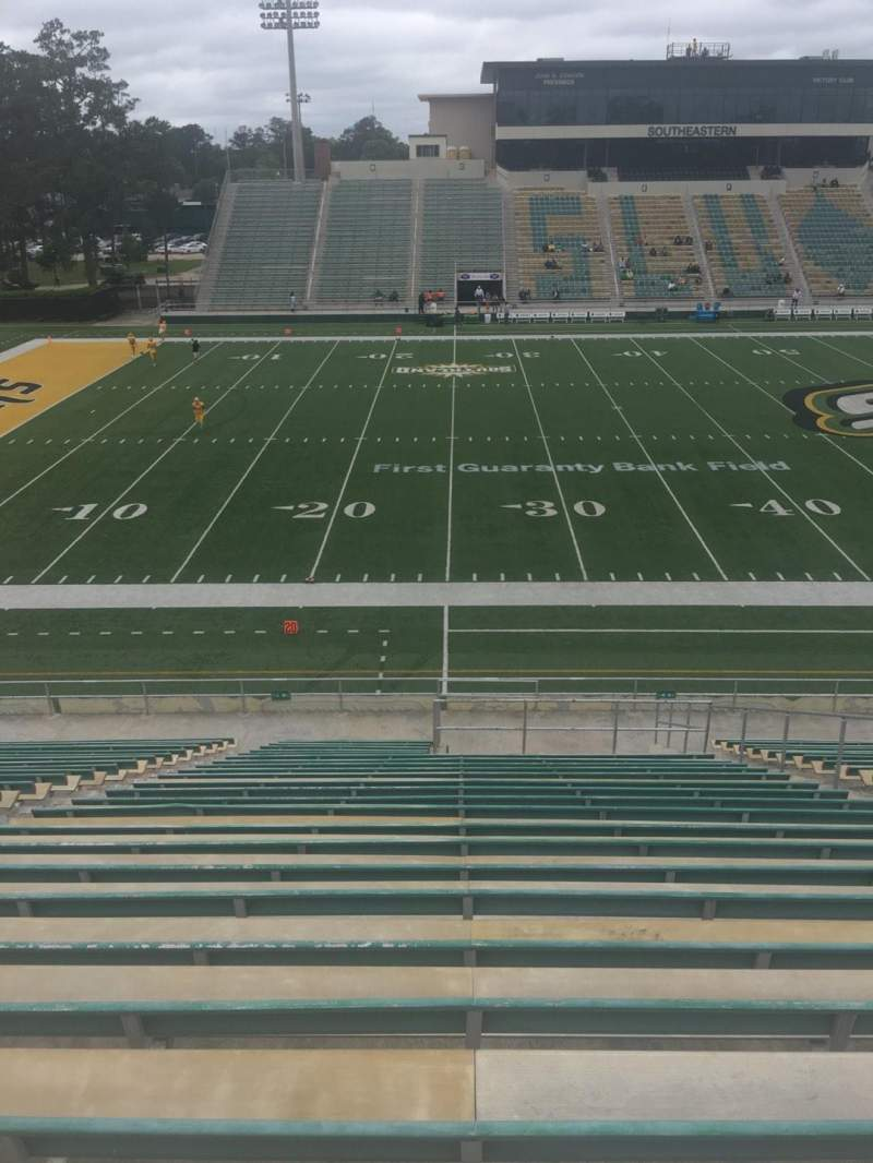 Seating view for Strawberry Stadium Section L Row 25 Seat 10