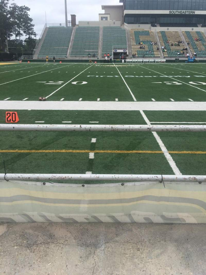Seating view for Strawberry Stadium Section N Row 1 Seat 10