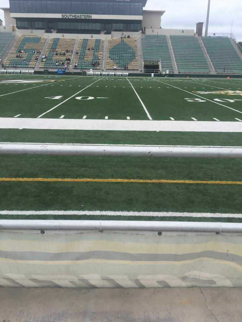 Seating view for Strawberry Stadium Section Q Row 1 Seat 10