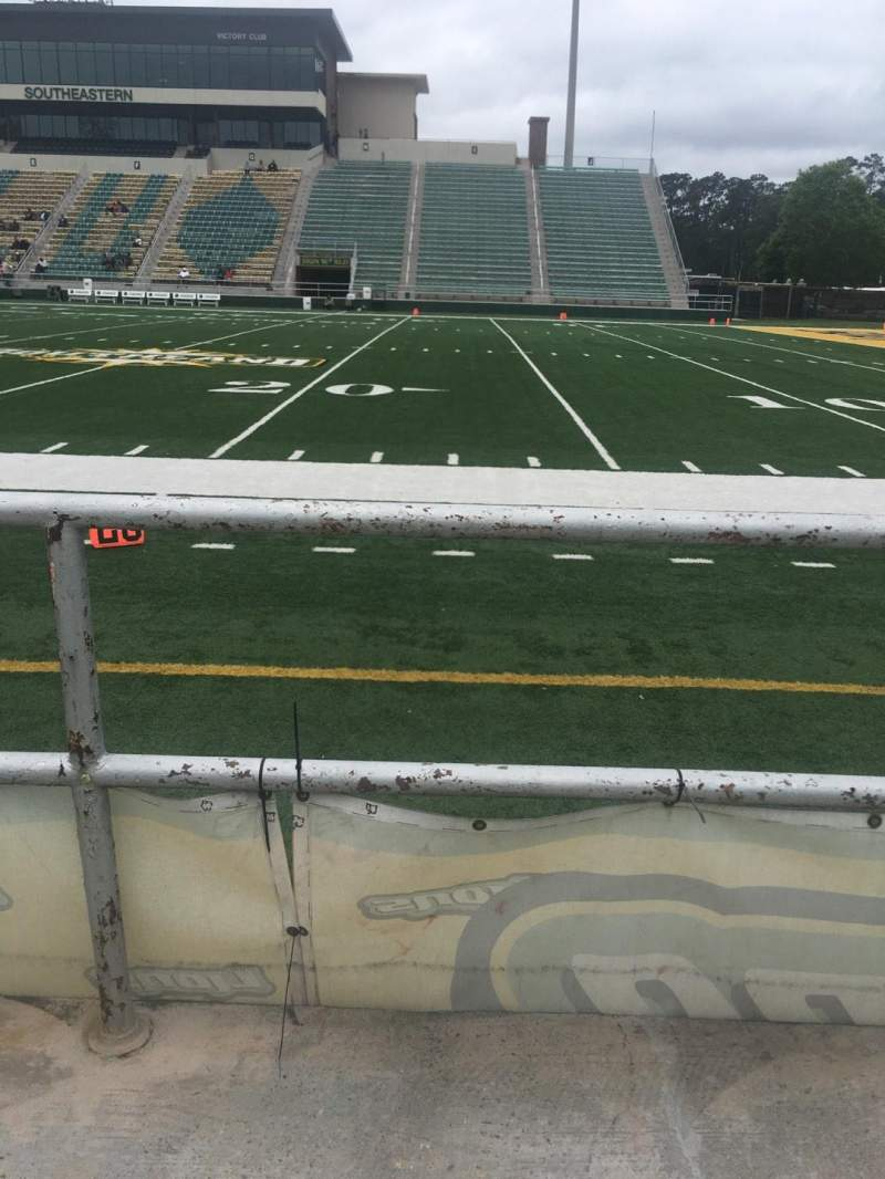 Seating view for Strawberry Stadium Section S Row 1 Seat 10