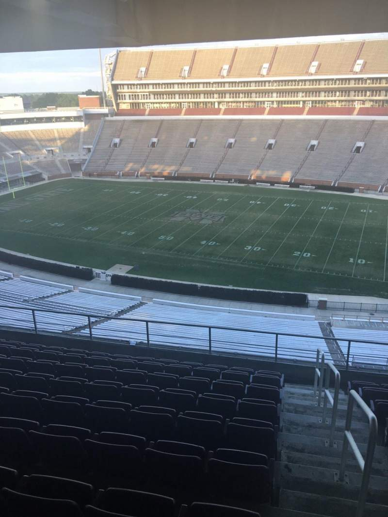 Seating view for Davis Wade Stadium Section 203 Row 09 Seat 01