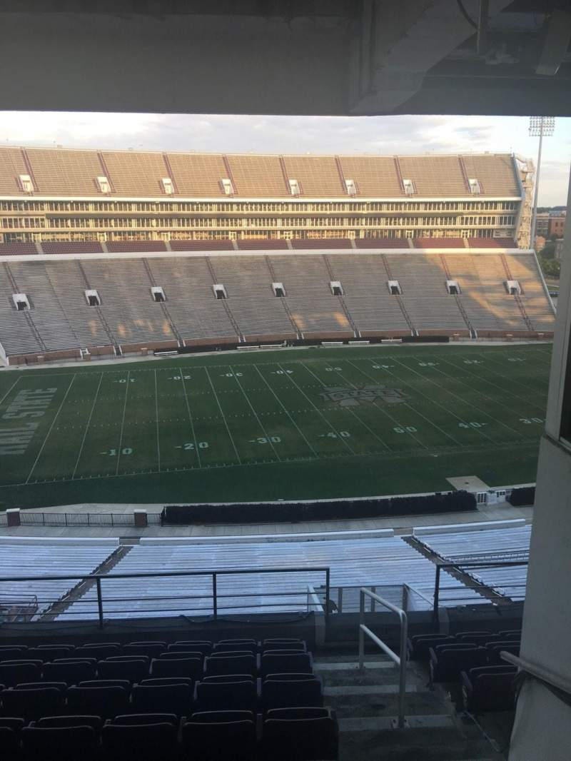 Davis Wade Stadium, section: 208, row: 08, seat: 04