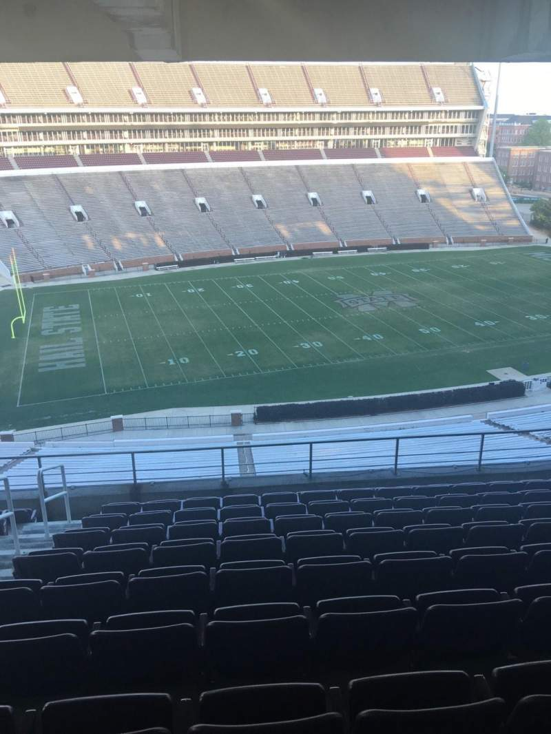 Seating view for Davis Wade Stadium Section 209 Row 10 Seat 12