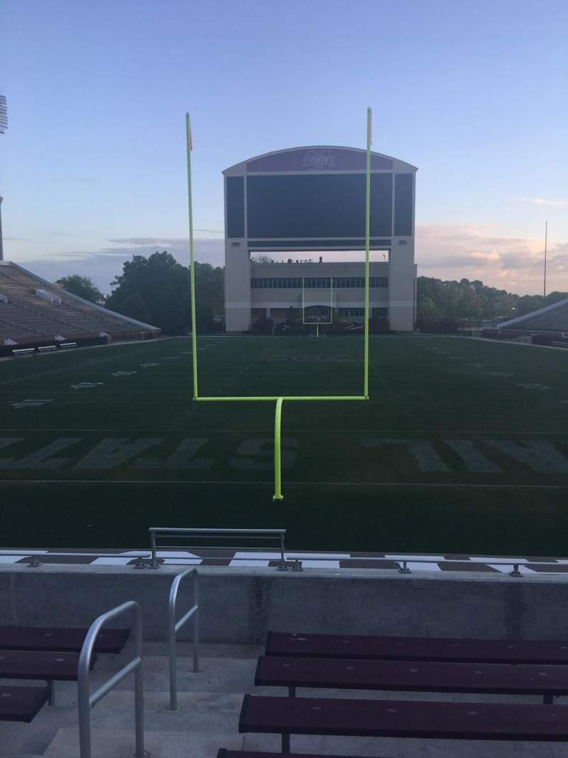 Seating view for Davis Wade Stadium Section 11 Row 10 Seat 28