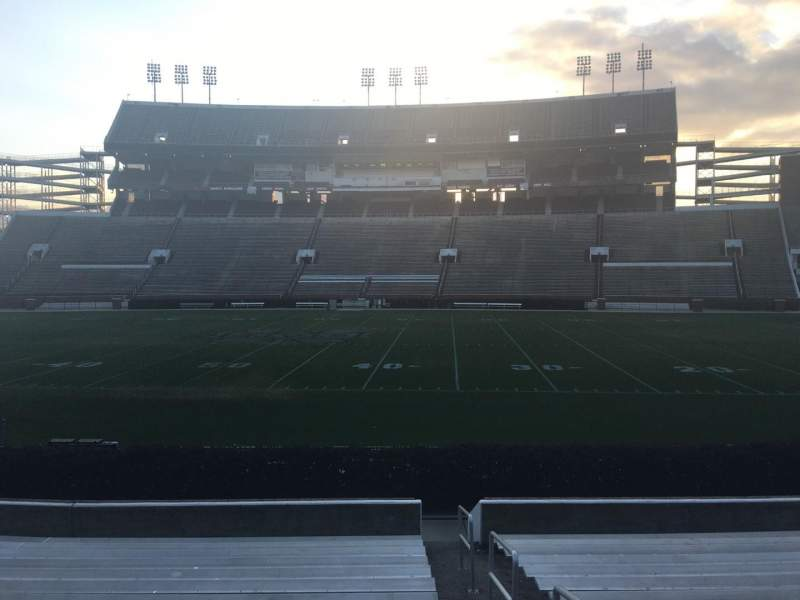 Seating view for Davis Wade Stadium Section 20 Row 17 Seat 01