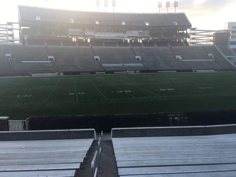 Seating view for Davis Wade Stadium Section 22 Row 17 Seat 29