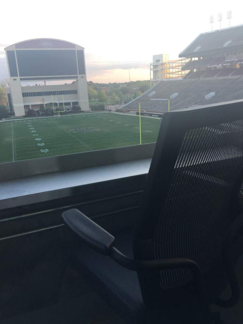 Seating view for Davis Wade Stadium