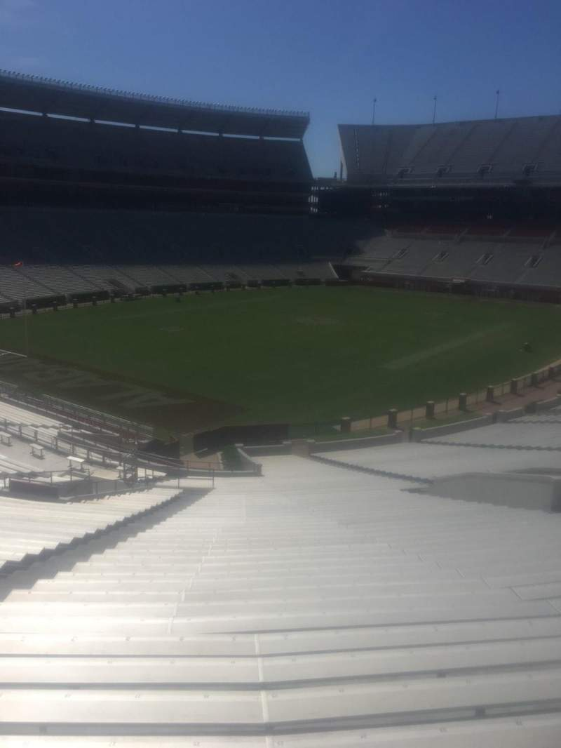 Seating view for Bryant-Denny Stadium Section n Row 59 Seat 29